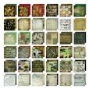 "TH93054 Tim Holtz® Idea-ology™ | Paperie Collage Mini Stash 8""x8"" - Paper Collage"